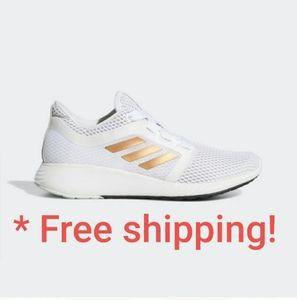 ❤💥 Adidas edge lux w/ rosegold striped logo size
